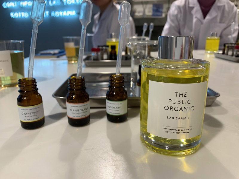 自分の香りを作る講座が人気