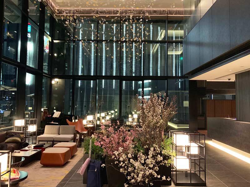 THE GATE HOTEL TOKYO ロビーラウンジ