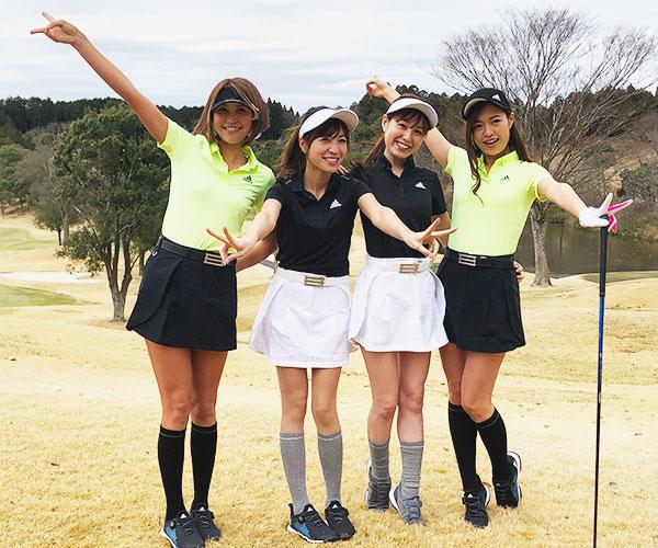 アディダスゴルフ ゴルフ女子