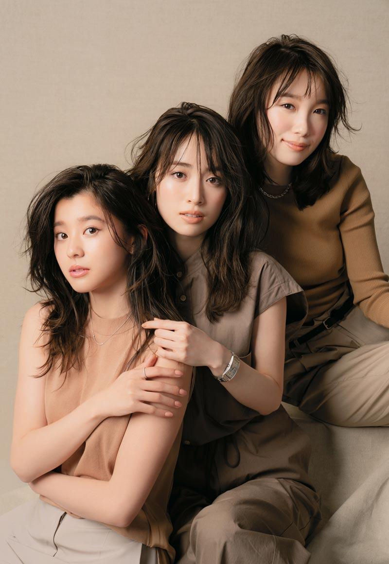 「Oggi」専属モデル 泉里香、朝比奈彩 飯豊まりえ