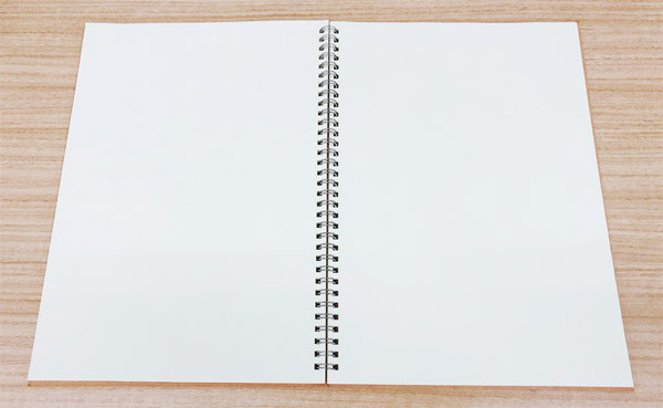 A4リングクラフト表紙ノート(ダイソー)