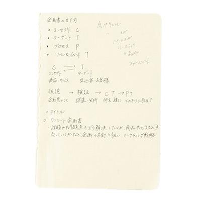 気になる情報のメモ書き用ノート