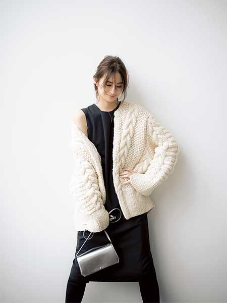 SHE & THE BASICS ざっくりニット 北川景子