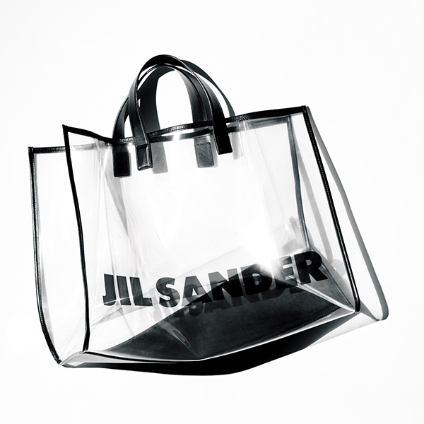 JIL SANDER(ジル・サンダー)のクリアバッグ