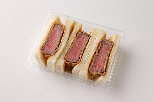 【西洋銀座】牛フィレ肉のカツサンド