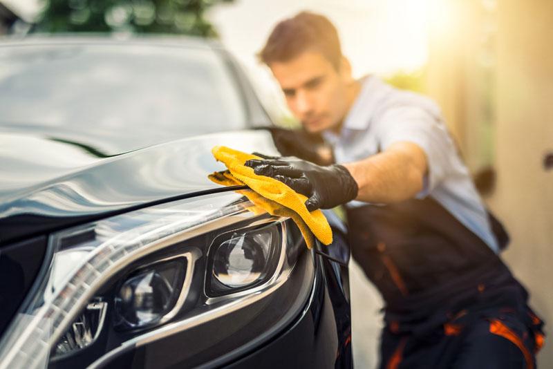 洗車用の液体ワックス