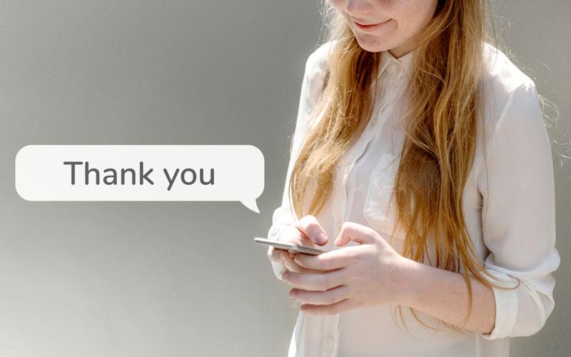 「ありがとう、ごちそうさま」はNG