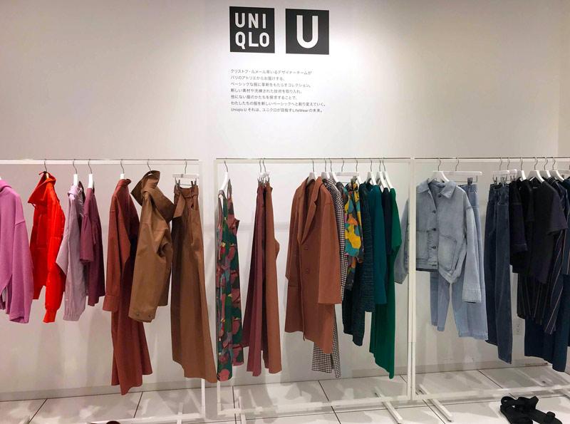 Uniqlo U 展示会