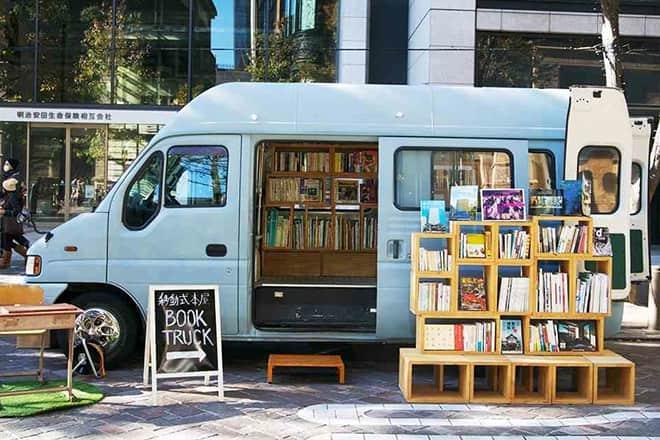 移動式本屋「BOOK TRUCK」