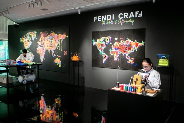 「フェンディ クラフ(FENDI CraFF)」展