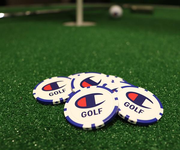 チャンピオンゴルフ 限定カジノチップマーカー