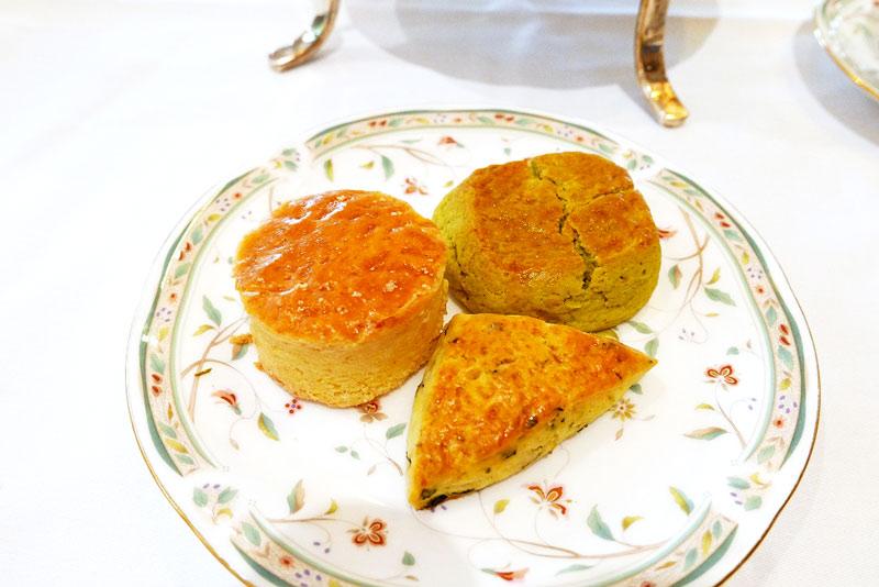 Premium 宇治茶アフタヌーンティー スタンド中段