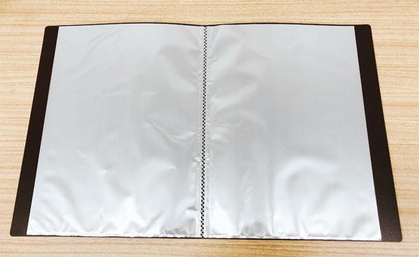 A4 ポケット式ファイル(セリア)