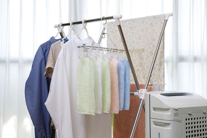 洗濯物の乾燥時間を短縮できる裏技