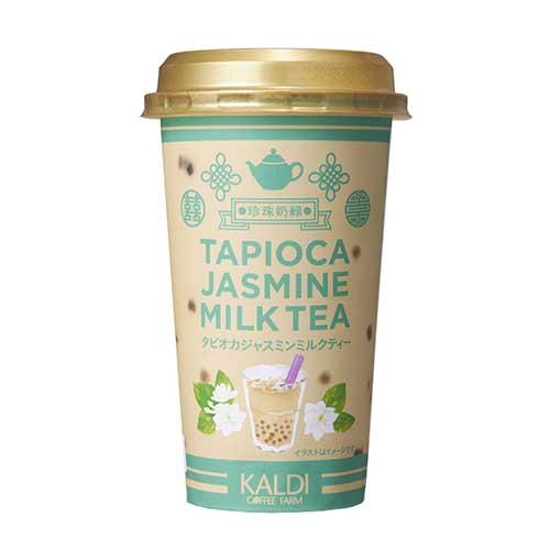オリジナル タピオカジャスミンミルクティー