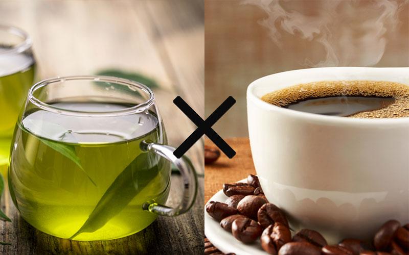 飲み物:緑茶コーヒーダイエット