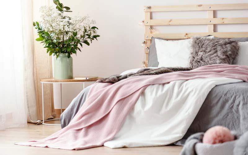 毛布、羽毛布団