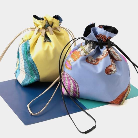 【1】manipuri × ROPÉのスカーフバッグ