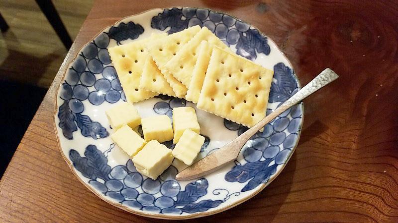 自家製みそチーズクリーム