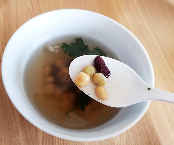 時短彩りスープ