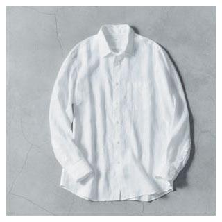 ユニクロ|リネンシャツ