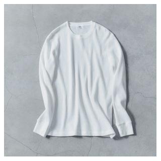 ユニクロ|ワッフルTシャツ