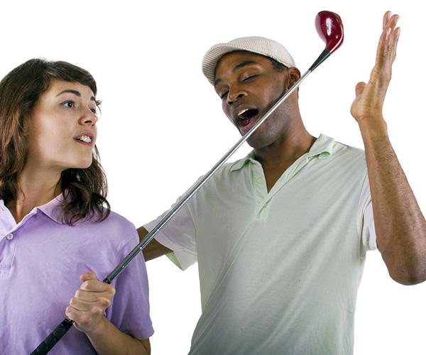 ゴルフ好きだけど下手な残念な上司