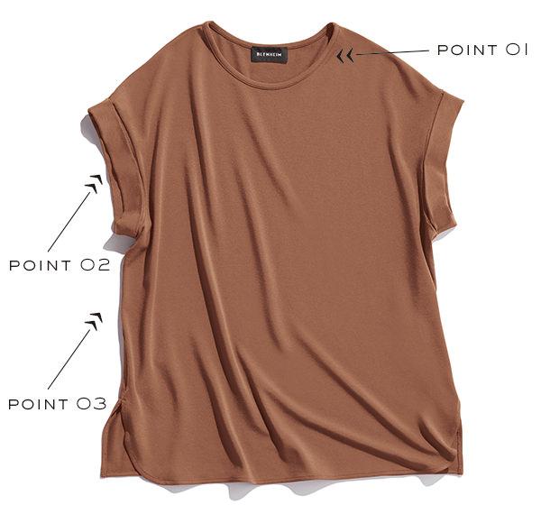BLENHEIMの名品TシャツOggi限定カラー
