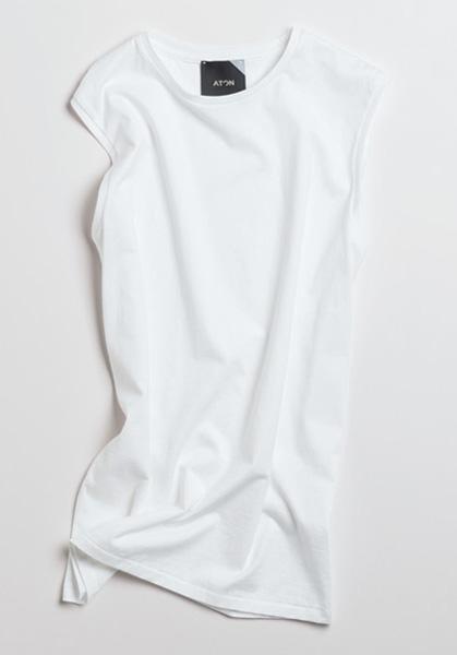 ATON|エイトンのノースリーブTシャツ