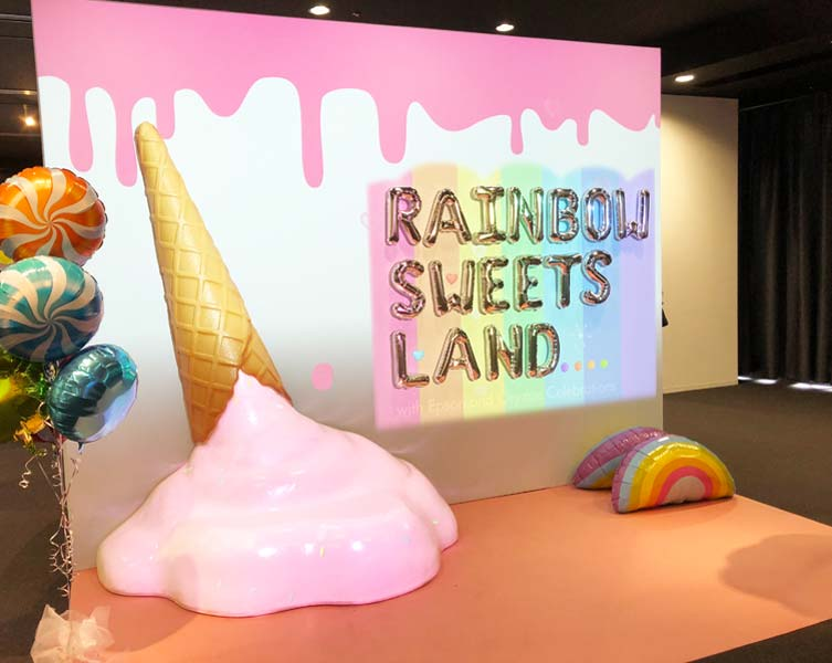 RAINBOW SWEETS LAND