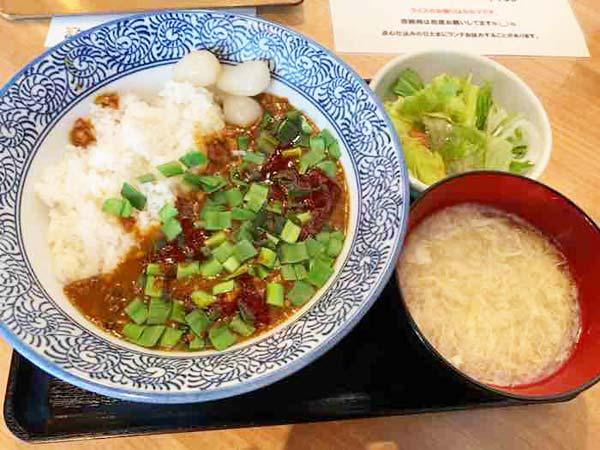 中華カレー「ハオワール」麻辣咖喱飯