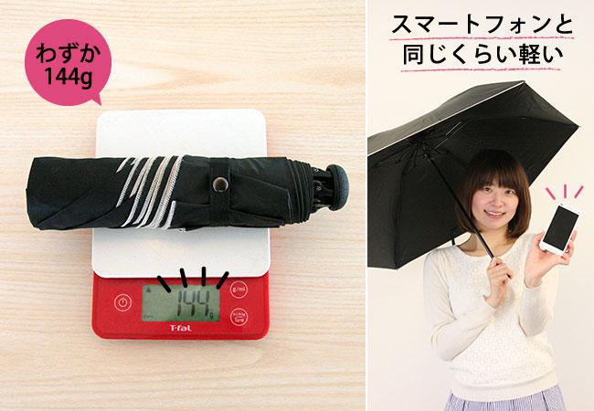 美白日傘 軽量