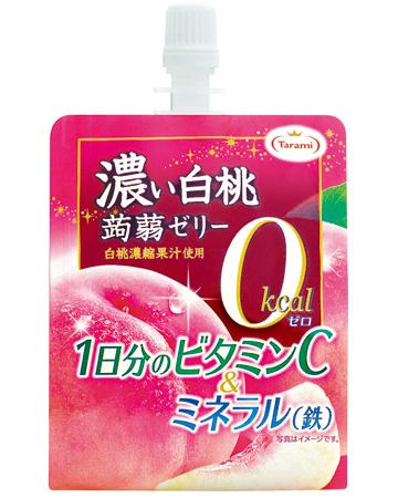 濃い白桃 0kcal 蒟蒻ゼリー