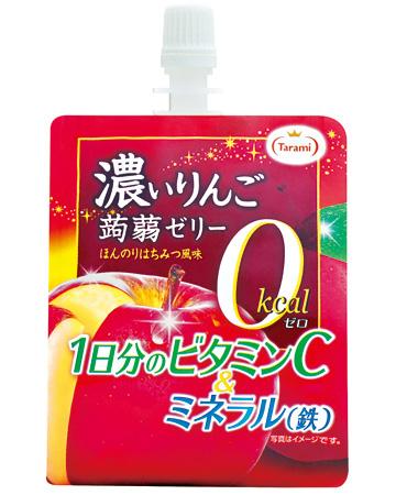 濃いりんご 0kcal 蒟蒻ゼリー