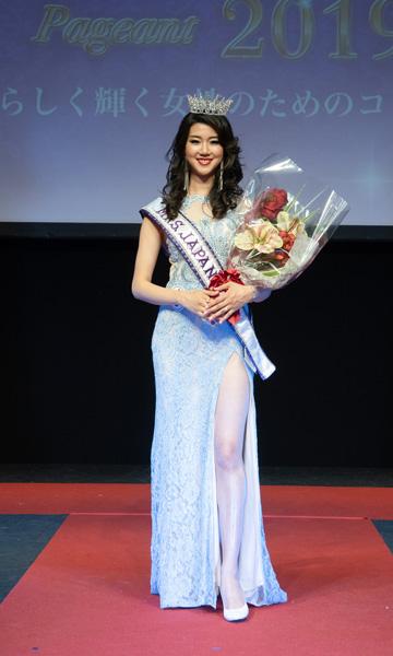 2019年ミセスインターナショナル日本代表の坂田弓佳さん