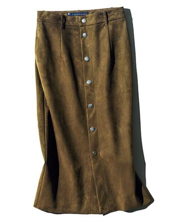 長めタイトスカート