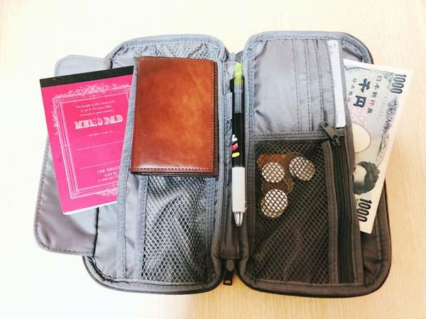 【無印良品】ポリエステルパスポートケース 取材日に持っていけるようなケース