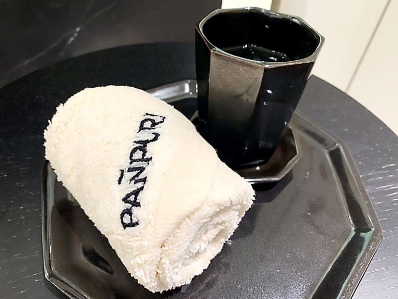 パンピューリ銀座 スパ「パンピューリ オアシス」 ハスのお茶