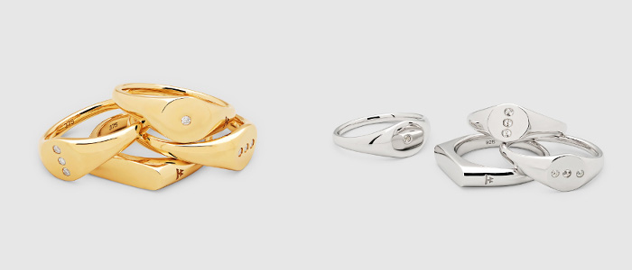 TOMWOOD(トムウッド)  リング「Petite rings」