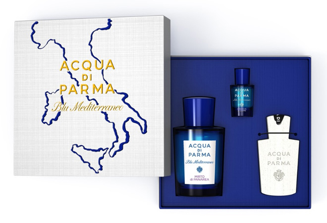 アクア ディ パルマ「アクア ディ パルマ ブルー メディテラネオ ミルト マップボックスコフレ」