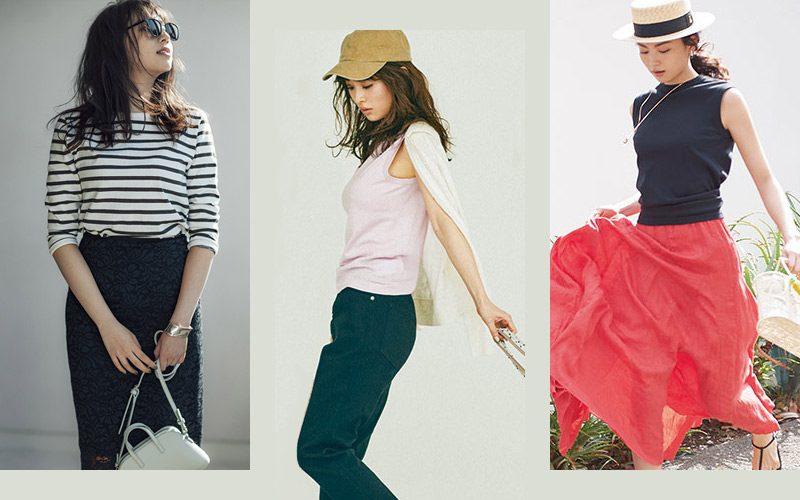 19db608ccea5 流行のファッション。今押さえておきたいトレンドのファッションを集めました。大人の女性のための最新 のレディースファッションアイテムを使ったコーデが勢ぞろい!