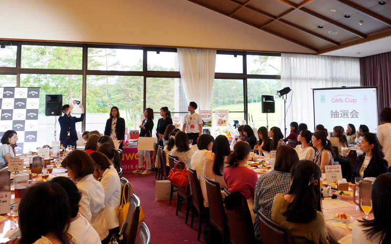 「Callaway Apparel Girls Cup」表彰式