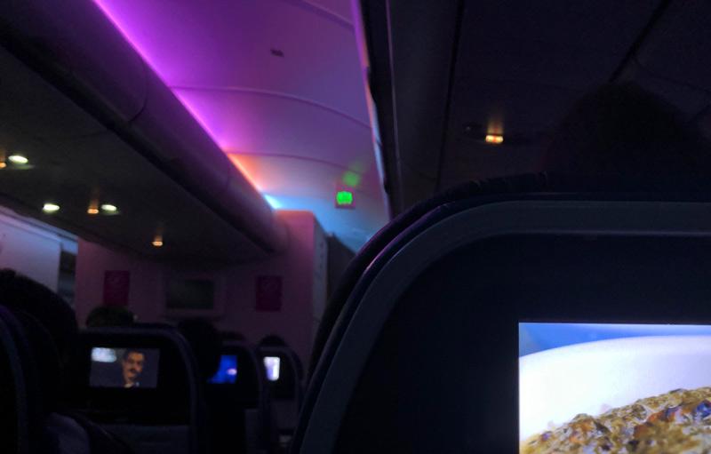 ハワイアン航空 夜間照明