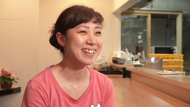 つけ麺とクレープの店 店主・矢野尚美さん