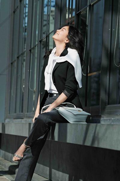 【THE SHINZONE】のGeneral jeans Black