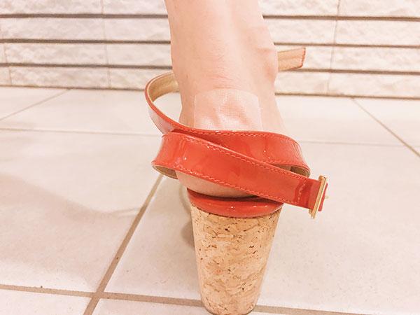 ネクスケア 靴ずれ保護テープ 透明で目立ちにくい