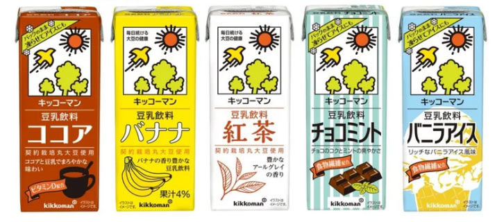 豆乳アイス ココア/バナナ/紅茶/チョコミント/バニラアイス