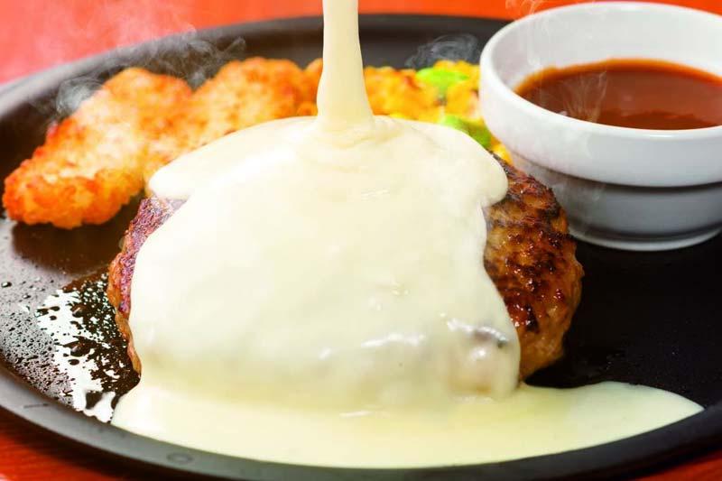 チーズONチーズINハンバーグ