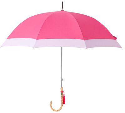 Francfrancレイングッズ 超撥水タッセル 長傘 58cm ピンク