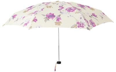 Francfrancレイングッズ アニータ 折傘 50cm ピンク